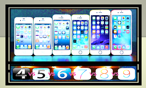 versions of iOS